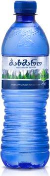 Упаковка минеральной негазированной воды Бахмаро 0.5 л х 12 бутылок (4865602000034)