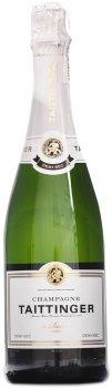 Шампанское Taittinger Demi sec белое полусухое 0.75 л 12.5% в подарочном деревянном футляре (1566656566691)