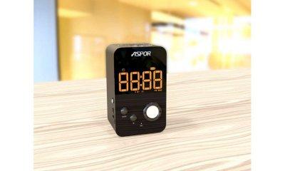 Бездротова портативна колонка Bass Aspor з Bluetooth A658 Чорний