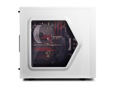 Корпус DeepCool Tesseract SW White, без БЖ