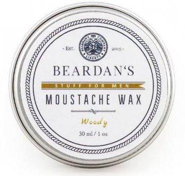 Віск для вусів Beardans, Woody, 30 мл - R152347