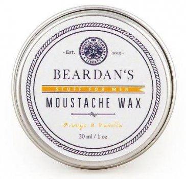 Віск для вусів Beardans, Orange and Vanilla, 30 мл - R152346