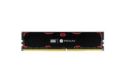 DDR4 4GB/2400 GOODRAM Iridium Black (IR-2400D464L15S/4G)