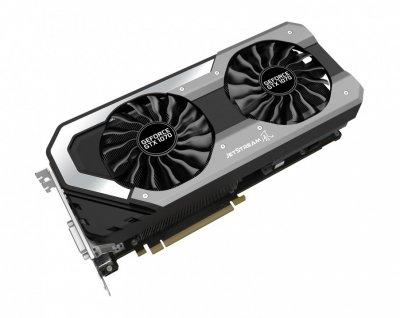 Відеокарта GeForce GTX1070 OC Palit JetStream 8Gb DDR5 256bit DVI/HDMI/3xDP 1683/8000 MHz NE51070015P21041J