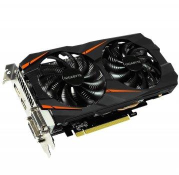Відеокарта GeForce GTX1060 OC Gigabyte 6Gb DDR5 192bit 2xDVI/HDMI/DP 1797/8008 MHz GVN1060WF2OC6GD