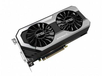 Відеокарта GeForce GTX1060 OC Palit JetStream 6Gb DDR5 192bit DVI/HDMI/3xDP 1708/8000 MHz NE51060015J91060J
