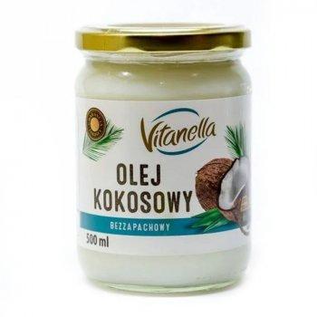 Кокосовое масло Vitanella Рафинированное 500 мл