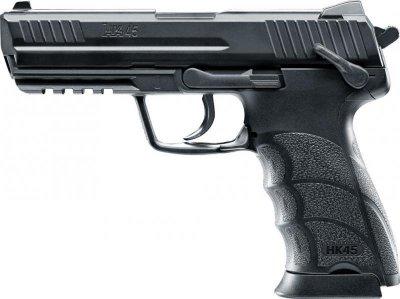 Пневматический пистолет Umarex Heckler & Koch HK45 черный