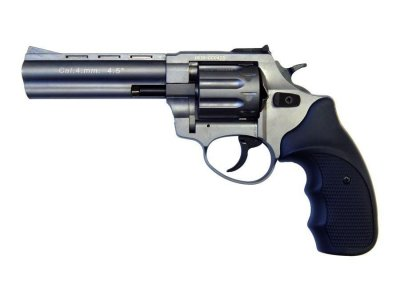 "Револьвер флобера STALKER 4 мм 4,5"" (барабан: сталь / титан / пластик)"