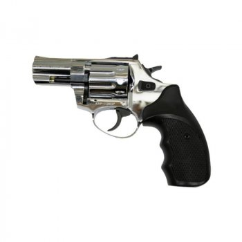 Револьвер под патрон флобера Ekol Major Berg 2,5 (глянцевый хром)