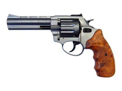 """Револьвер флобера STALKER 4 мм 4,5"""" (барабан: сталь / титан / пластик под дерево)"""