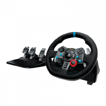Руль Logitech PlayStation 4 G29 Driving Force Racing Wheel Black + Педалі 2m