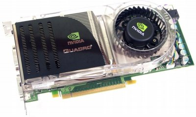 Відеокарта NVIDIA PCI-Ex QUADRO FX 4600 768 MB DDR3 (384 Bit) (DVI) Б/У