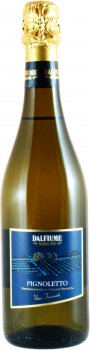 Вино игристое Dalfiume Pignoletto Frizzante DOP белое сухое 0.75 л 12% (8008501000781)