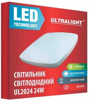Настенно-потолочный светильник Ultralight UL 2024 24 Вт 5000 К (UL-49421)