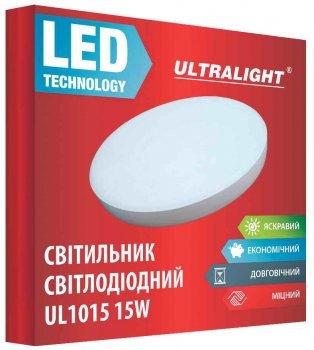 Настенно-потолочный светильник Ultralight UL 1015 15 Вт 4100 К (UL-49418)