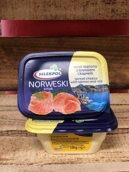 Сыр Mlekpol Norweski smak 150g
