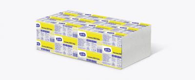 Упаковка листових рушників Grite Economy V 1 шар 4 пачки по 250 аркушів 250х230 мм (4770023623734_4770023349245)