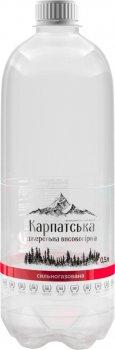 Упаковка воды питьевой сильногазированной Горянка Высокогорная родниковая 0.5 л х 12 бутылок (4820227100118)