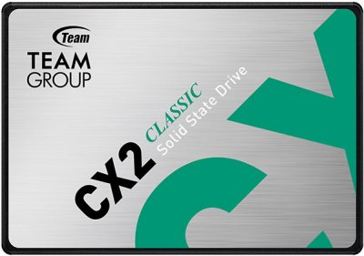 "Team CX2 512GB 2.5"" SATAIII 3D TLC (T253X6512G0C101)"