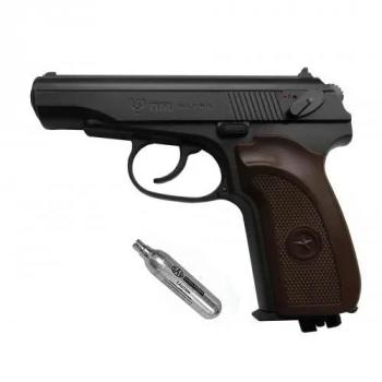 Пневматичний пістолет Umarex makarov pm ultra + баллончик со2 в подарунок