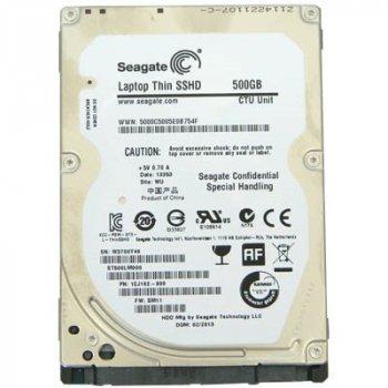 "Накопитель HDD 2.5"" SATA 500GB Seagate Laptop Thin SSHD 64MB 5400rpm (ST500LM000) - Refubrished"