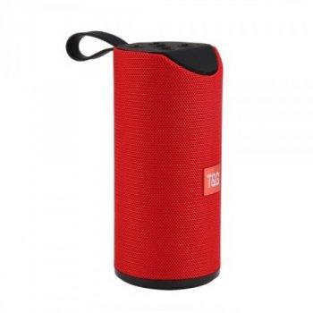 Портативна Bluetooth колонка T&G TG-113 Червона (46334)