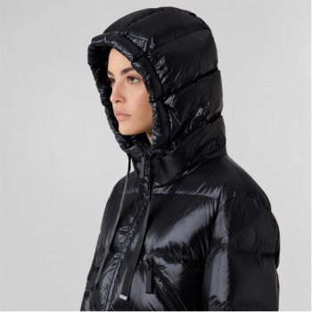 Зимова куртка Trussardi 56S00572 1T004447 K299 Чорна