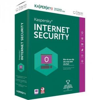 Антивірус Kaspersky Internet Security 2018 Multi-Device 1 ПК 1 year Base Box (5060486858156)
