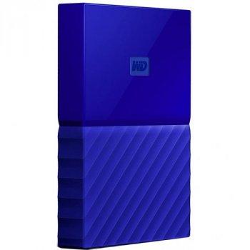 Зовнішній жорсткий диск 2.5 quot; 1TB Western Digital (WDBYNN0010BBL-WESN)