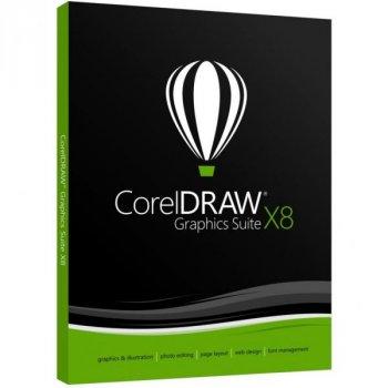 ПО для мультимедіа Corel CorelDRAW Graphics Suite X8 En for Windows (CDGSX8IEDP)