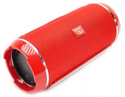 Портативна bluetooth стерео колонка вологостійка TG116 Червона T&G (116 Red)