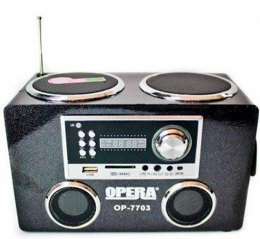Портативна колонка,радіо Opera OP-7703
