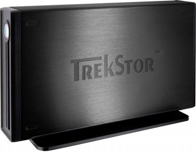 "Жорсткий диск Trekstor DataStation maxi m.ub 3.5"" 500Gb USB 2.0 (TS35-500MMUB) Black Refurbished"