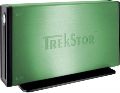 "Жорсткий диск Trekstor DataStation maxi m.ub 3.5"" 1000Gb USB 2.0 (TS35-1000MMUG) Green Refurbished"