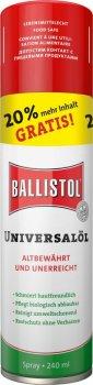 Масло збройне Klever Ballistol Універсальний Oil Spray 240 ml (34640)