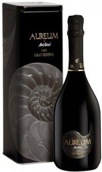 Вино игристое Mont Marcal Cava Aureum Brt NatrGrRs белое брют 0.75 л 13% (250007663047_8423172019045)