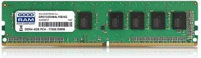 Пам'ять DDR4 RAM 4GB GOODRAM 2133MHz PC4-17000 GR2133D464L15S/4G)