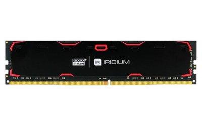 Пам'ять DDR4 RAM 8GB GOODRAM 2133MHz PC4-17000 Iridium Black (IR-2133D464L15S/8G)