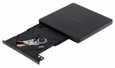 Привід DVD+/-RW HITACHI-LG USB2.0 GP60NB60 Black External Ultra Slim