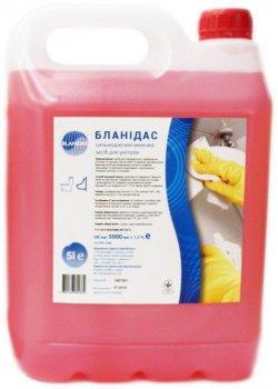 Бланидас - сильнодіючий миючий засіб для унітазів, 5 л