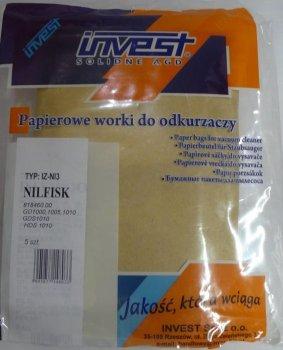 Пилозбірник/мішок для пилососа Nilfisk INVEST IIZ-Nl3