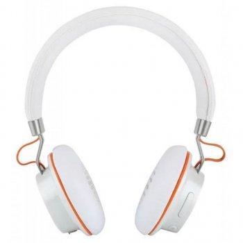 Беспроводные Bluetooth стерео наушники (гибрид) Remax RB-195HB Original White