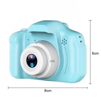 Дитяча Фото відеокамера c дисплеєм 2.0 3Mpx, 1080P HD M+ F3 Blue