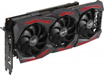 Asus PCI-Ex GeForce RTX 2060 Super ROG Strix 8G Gaming EVO OC 8GB GDDR6 (256bit)(1470/14000)(2xDisplayPort, 2xHDMI, Type-C) (ROG-STRIX-RTX2060S-O8G-EVO-GAMING)
