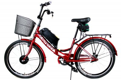 Электровелосипед складной Formula SMART 24 колесо 36В 350Вт 13Ач литий ионный аккумулятор