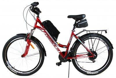 Электровелосипед OMEGA 26 колесо 36В 350Вт 13Ач литий ионный аккумулятор