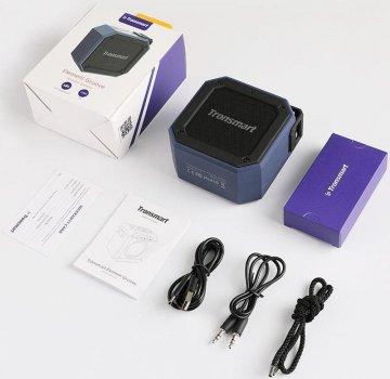Портативная акустика Tronsmart Element Groove Bluetooth Speaker Blue (550_19)