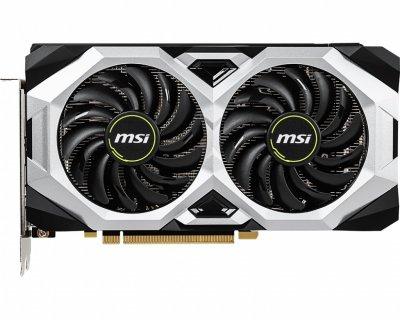 Відеокарта GF RTX 2060 Super 8GB GDDR6 Ventus MSI OC (GeForce RTX 2060 SUPER VENTUS OC)
