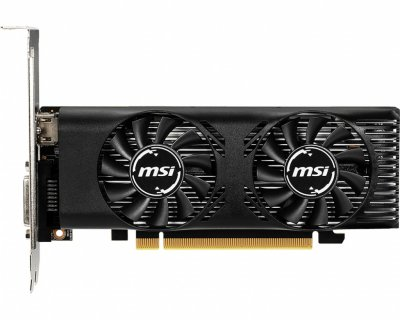 Видеокарта GF GTX 1650 4GB GDDR5 Low Profile OC MSI (GeForce GTX 1650 4GT LP OC)